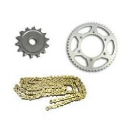Quad ketting/tandwiel X-Ring Gold